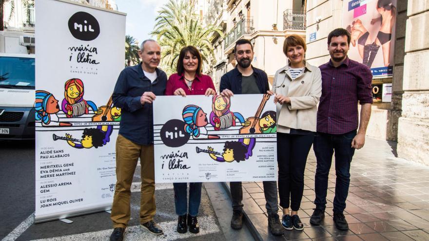 """El festival MiL de Xàtiva: 9 conciertos de autor en una edición """"con alma feminista"""""""