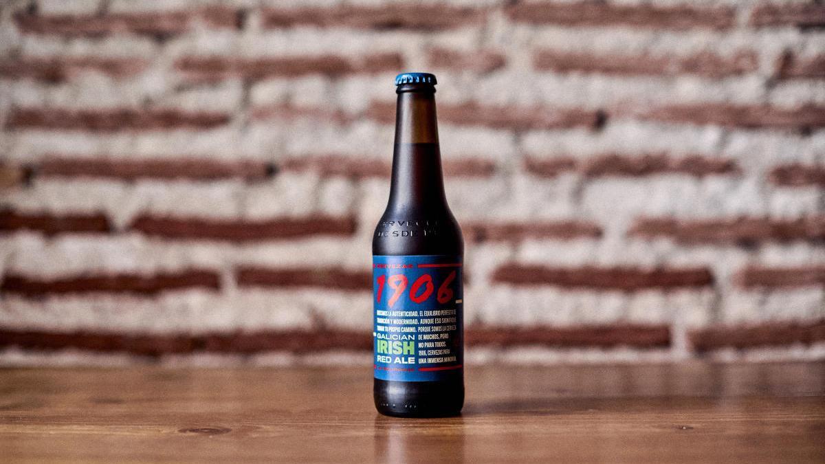'La Pelirroja', nueva cerveza de la familia 1906 de Estrella Galicia.