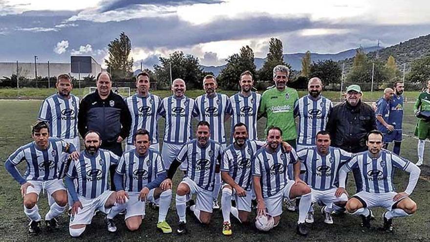 El Atlético Baleares veteranos vence en la UIB