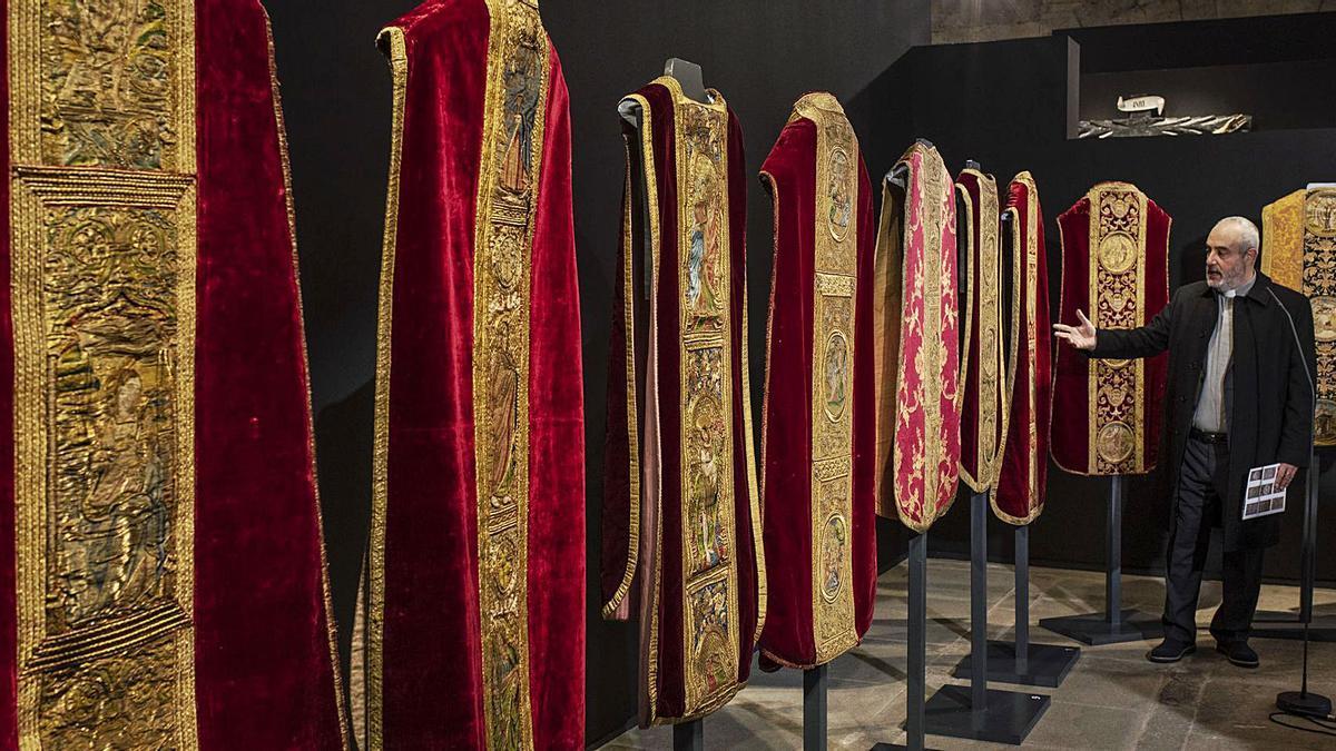 Una colección de lujo textil en el Museo Diocesano de Zamora