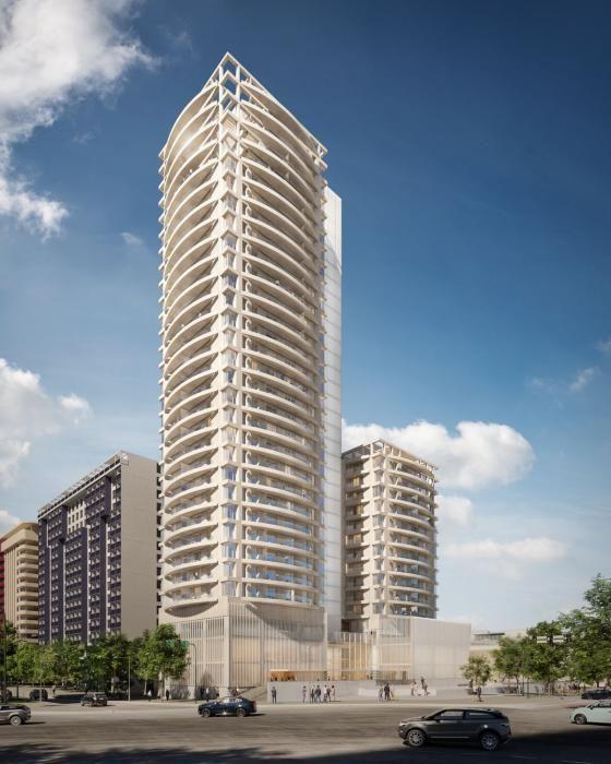 Así será el rascacielos que Bofill construirá en València