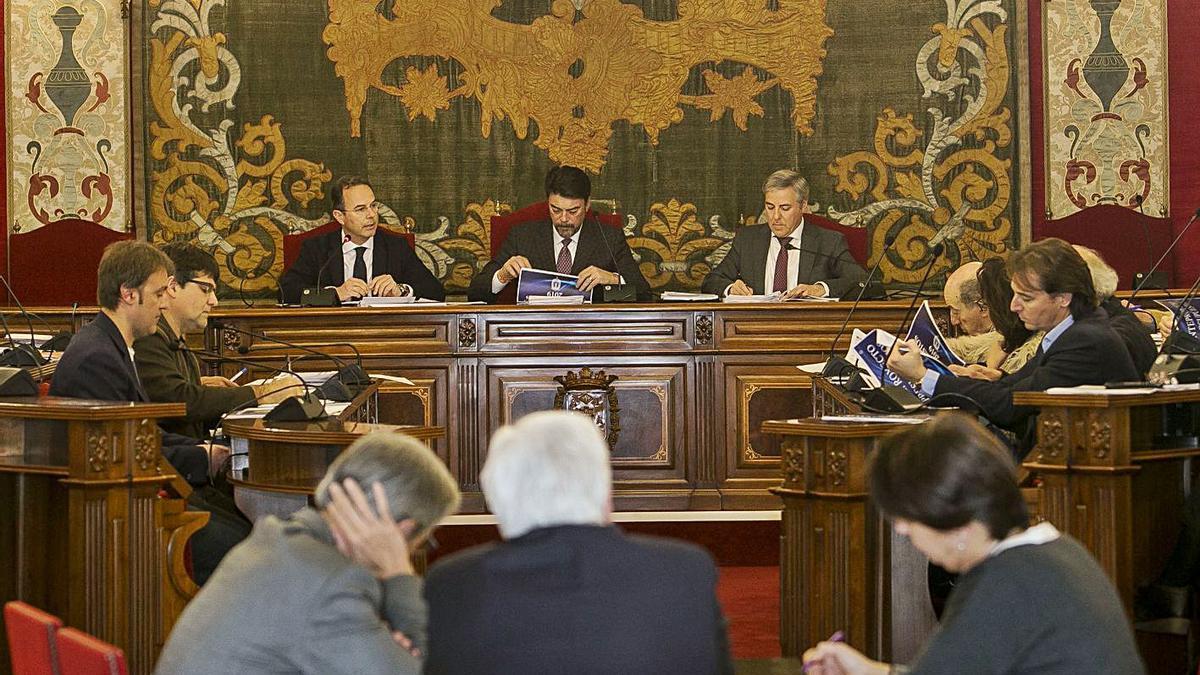 El último Consejo Social se celebró a principios de 2019, justo antes de las elecciones.  | HÉCTOR FUENTES