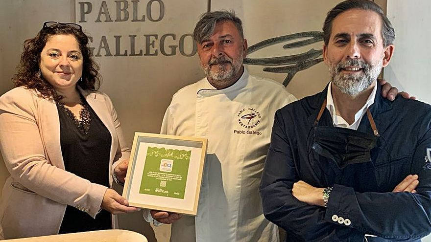 Las cero emisiones del restaurante Pablo Gallego