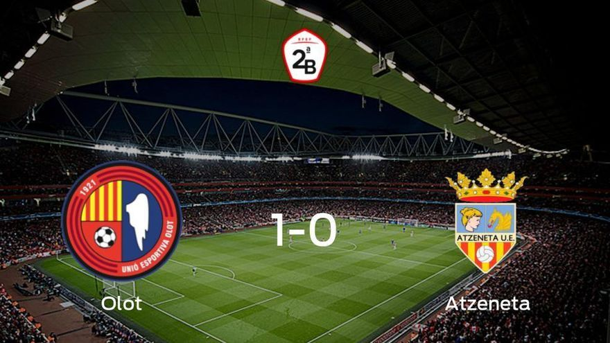 Triunfo 1-0 del Olot frente al Atzeneta