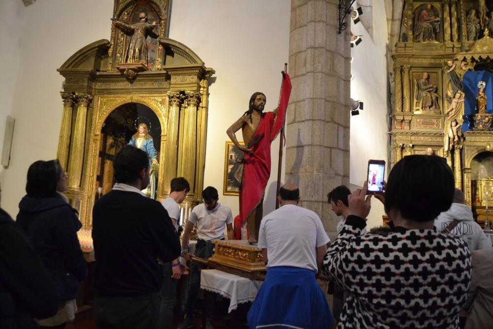 Domingo de Resurrección en Puebla de Sanabria.