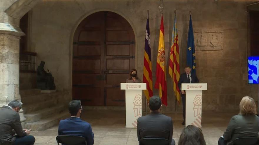 C. Valenciana y Baleares piden a UE que las PCR sean gratuitas para los viajes