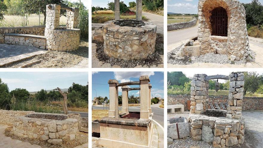 An diesen Brunnen gibt's statt Erfrischung jede Menge Erinnerungen