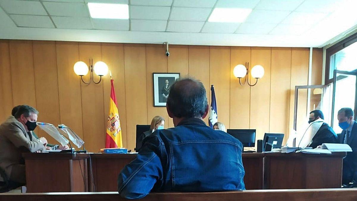 El empresario acusado, durante el juicio celebrado esta semana en Palma