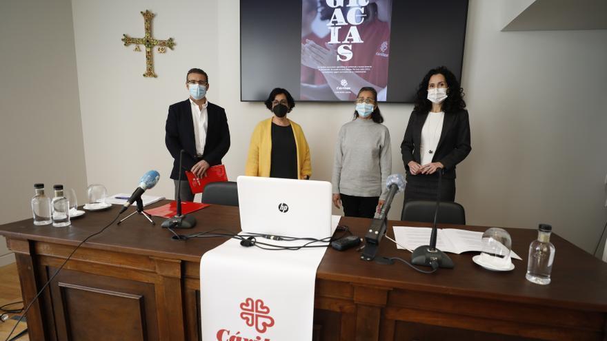 Cáritas lanza un serio aviso sobre la pobreza en Asturias: La pandemia disparó las peticiones de ayuda hasta las 12.434 en 2020