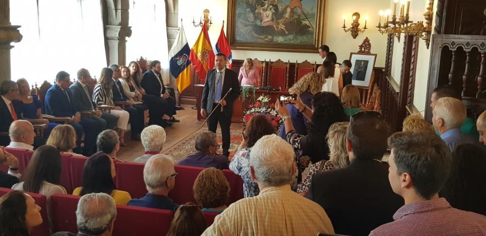 Negociaciones de pactos en Tenerife