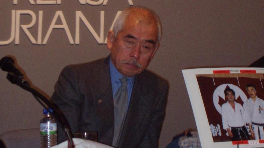 Lino Gómez Feito rinde homenaje al maestro de karate desparecido: Se lo debo, se lo debemos
