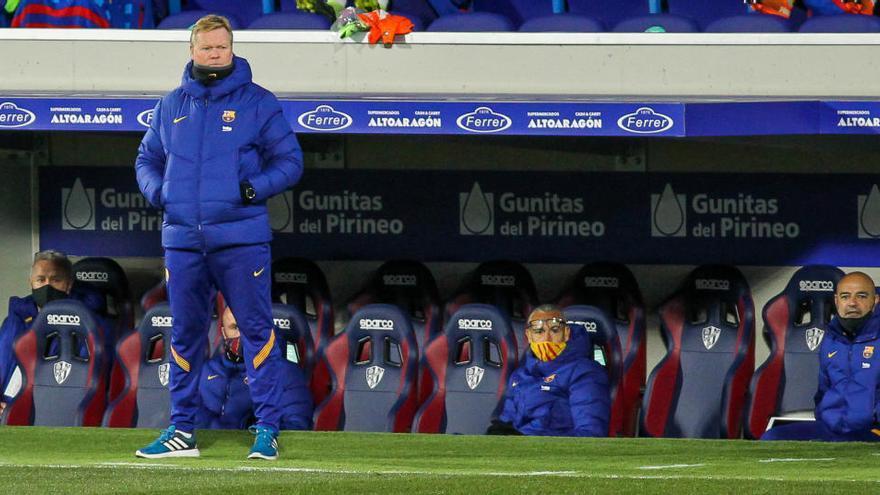 Dos miembros del cuerpo técnico del Barcelona dan positivo por coronavirus