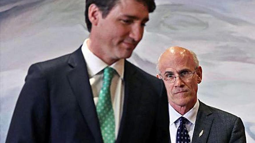 Trudeau es defensa de  les acusacions d'interferir en un cas judicial