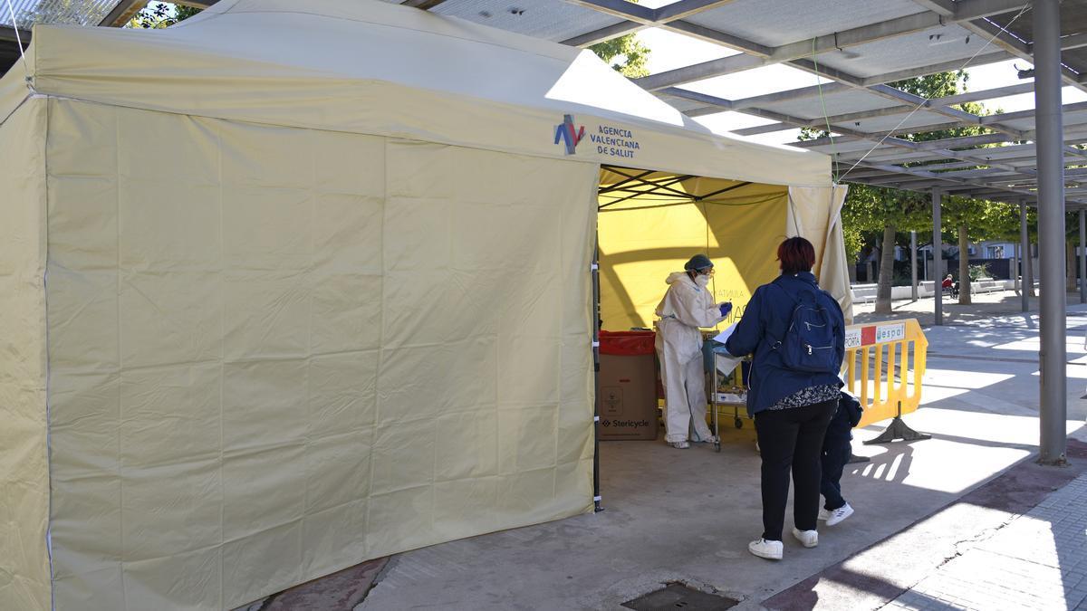 Atención sanitaria en Paiporta