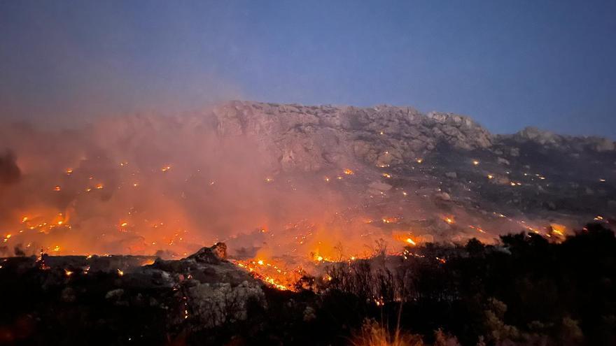 Nach Horror-Waldbrand 2013: Coll de Sa Gramola in Andratx brannte erneut