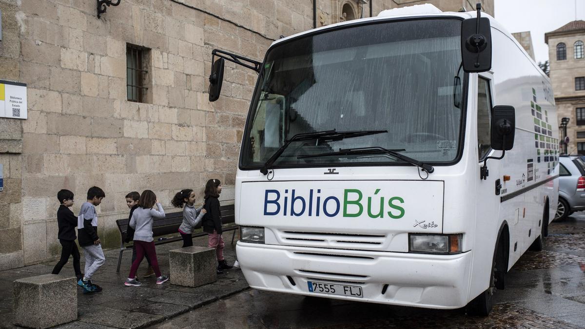Bibliobús en Zamora