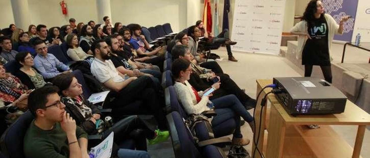 Imagen de archivo del encuentro Women Techmakers. // José Lores