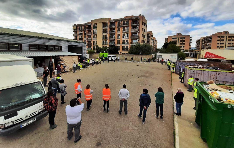Mallorca guarda un minuto de silencio por las víctimas de la violencia de género