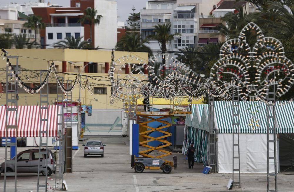 La Feria de Sevillanas 2019 se inaugura el próximo miércoles en el recinto ferial del puerto de Torrevieja.