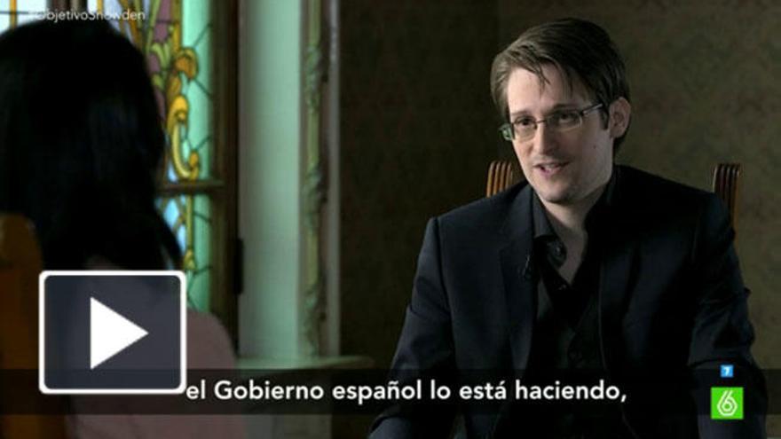 Pastor brilla con su entrevista a Snowden