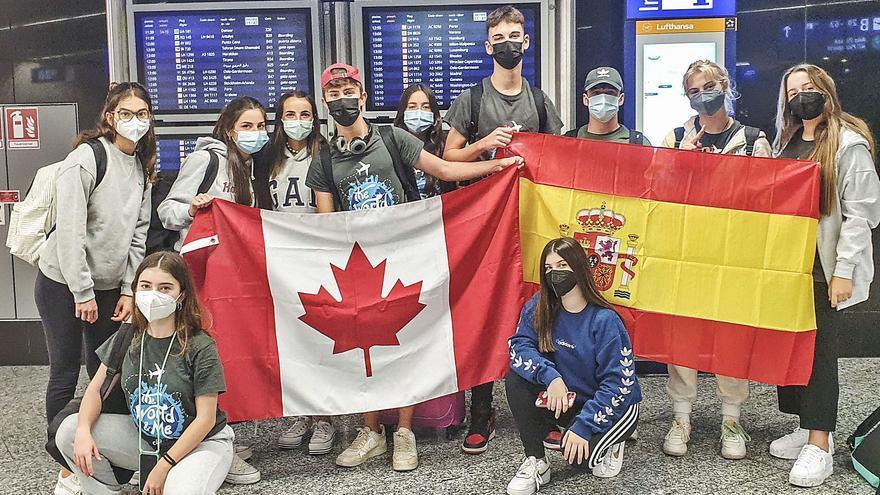 2.500 alumnos a partir de 14 años salen a estudiar a Europa, EE UU y Canadá
