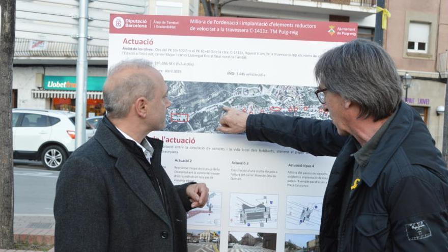 Puig-reig  pacificarà el trànsit de la seva travessera urbana