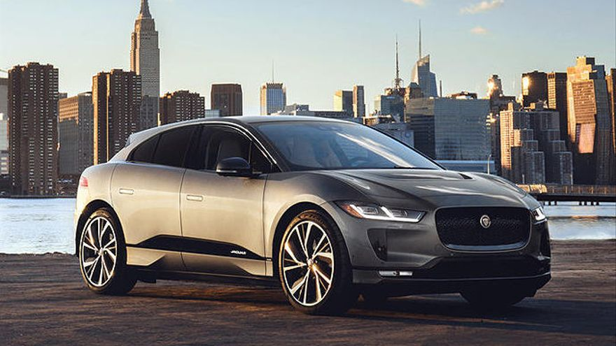 El Jaguar I-Pace.