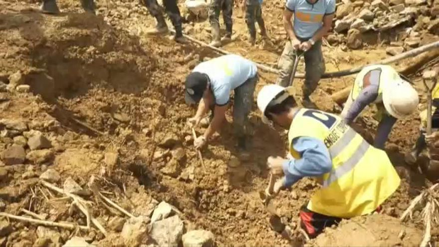 Hasta 74 muertos por el tifón Mangkhut en Filipinas