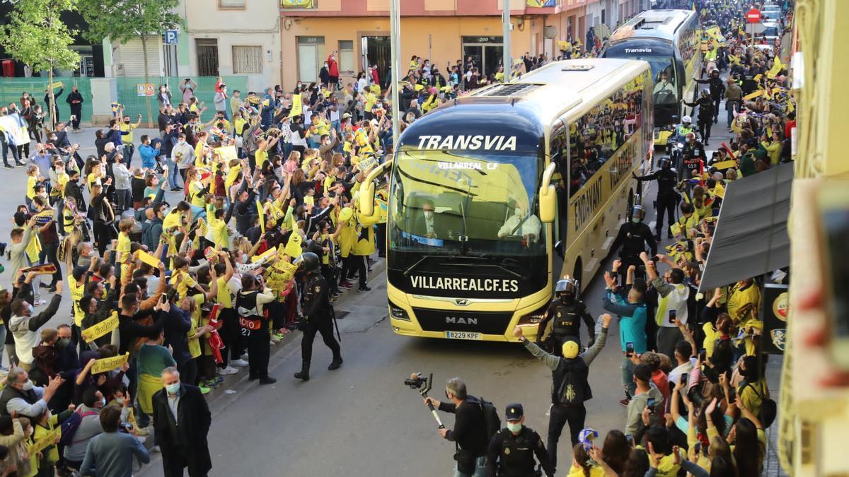 Los abonados del Villarreal podrán ver el partido ante el Sevilla en La Cerámica.
