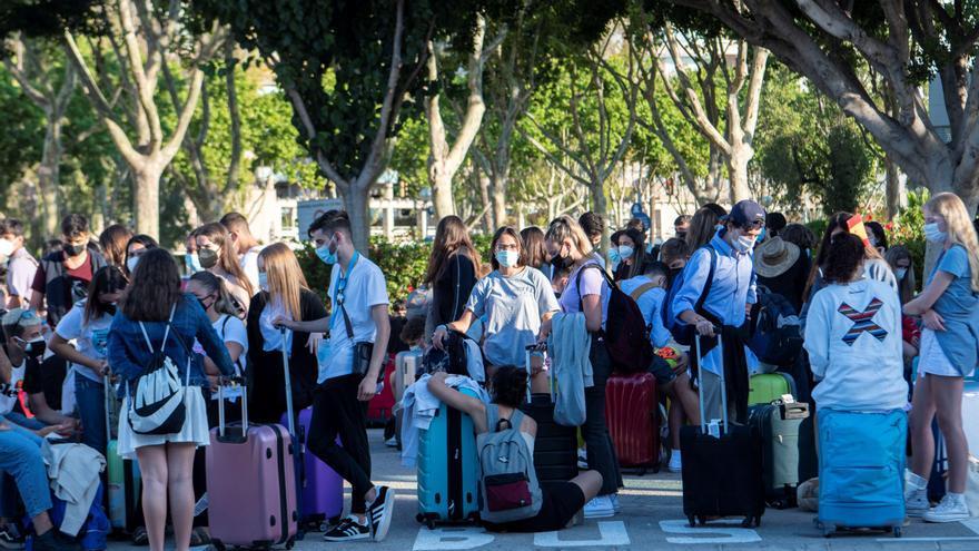 Cinco positivos entre los 21 gallegos regresados de Mallorca