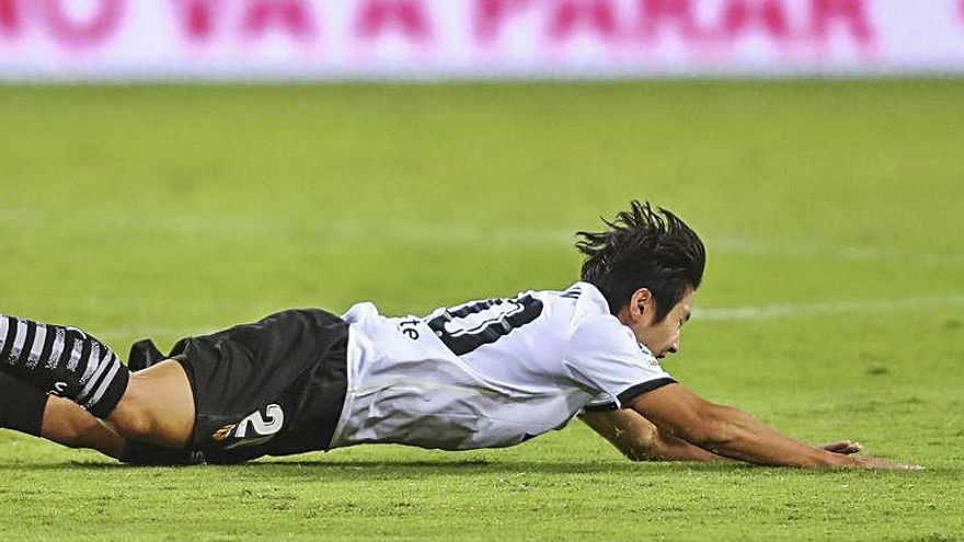 La última oportunidad para Kang In en el Valencia CF