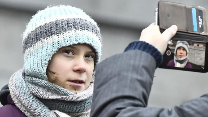 """Greta Thunberg replica a Meat Loaf: """"No se trata de mí, son hechos científicos"""""""