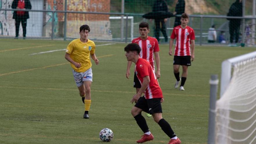Los juveniles del Zamora CF inician la lucha por la permanencia con derrota