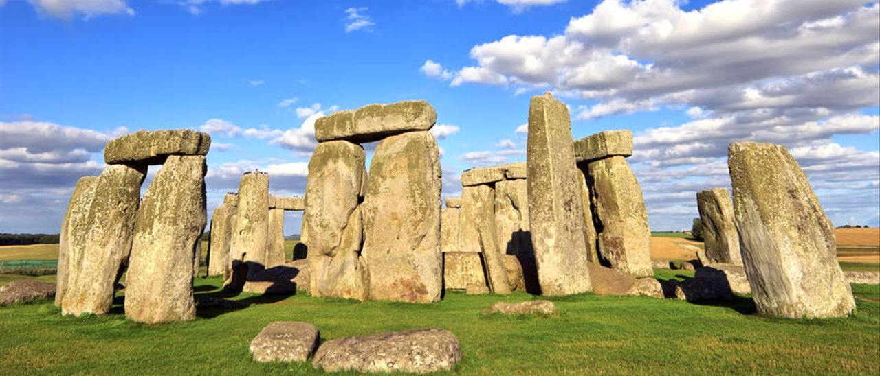 El monumento megalítico de Stonehenge.