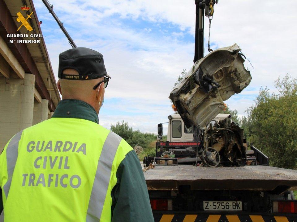 La Guardia Civil confirma que el coche encontrado en Alagón es el implicado en el atropello del concejal de Luceni
