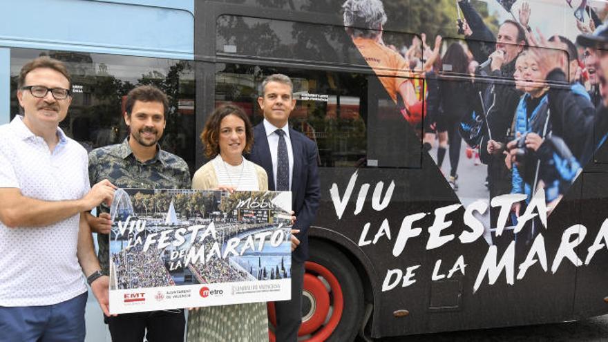 Los autobuses serán gratuitos el domingo del Maratón