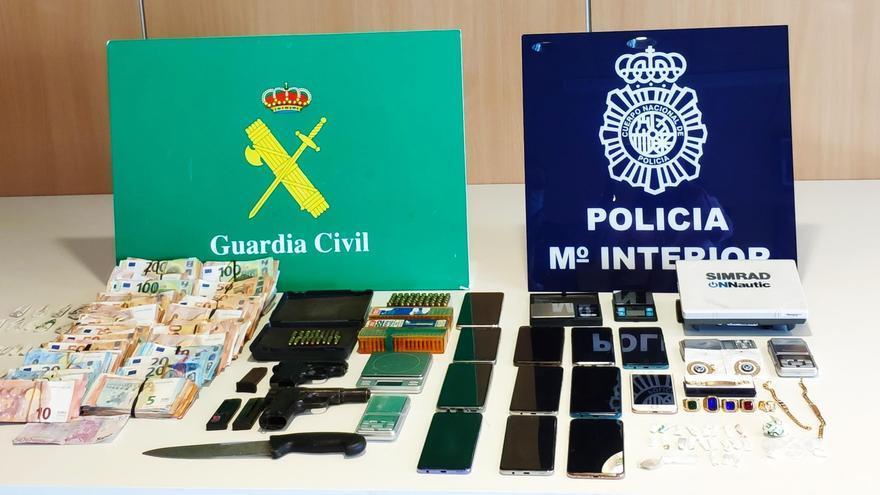 Narcotráfico en Galicia: caen dos grupos criminales dedicados al menudeo de droga en Vigo y Pontevedra