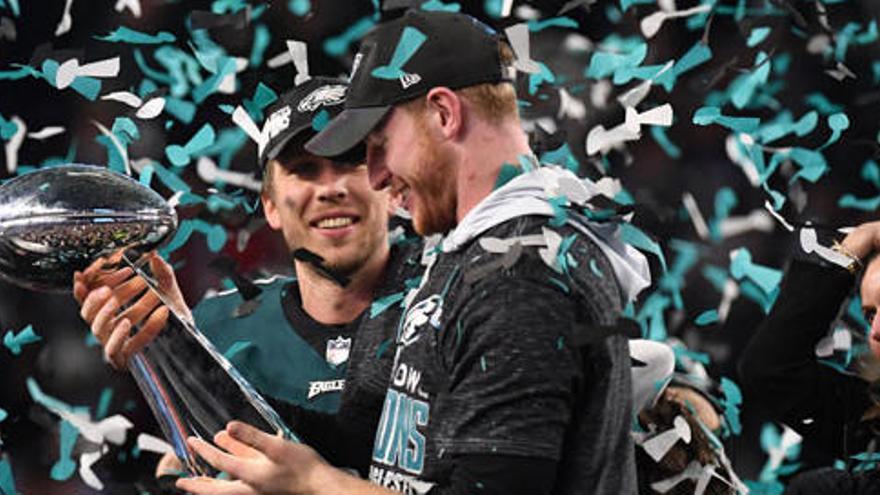 Els Eagles guanyen la seva primera Super Bowl davant els Patriots