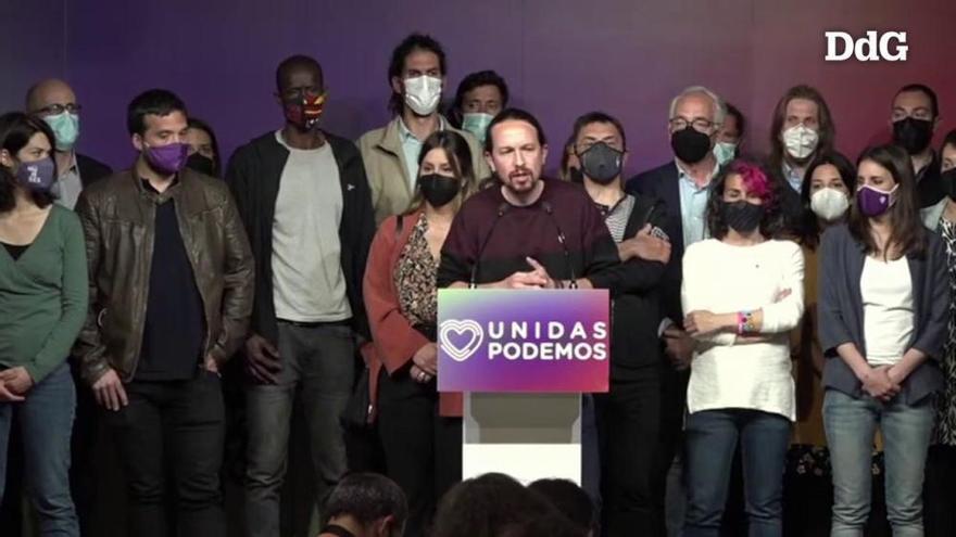 Iglesias deixa la política: «Quan un deixa de ser útil ha de saber retirar-se»