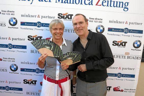 Gisela Bacher und Ciro Krauthausen