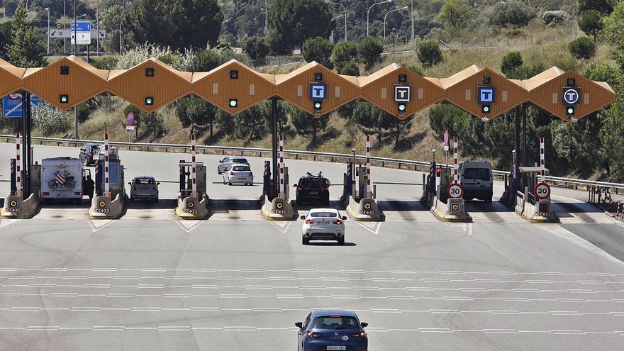 El trànsit a l'autopista augmentarà un 15% amb l'aixecament dels peatges