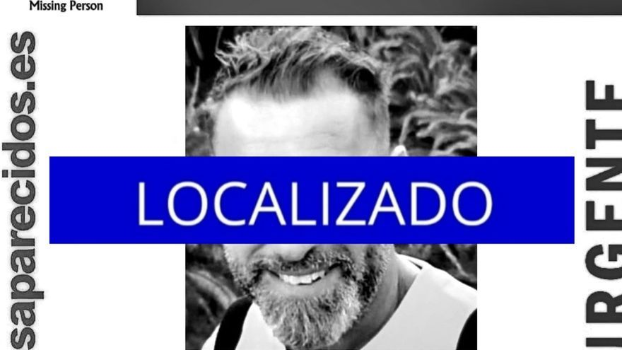 Encuentran al hombre desaparecido el sábado en Tenerife