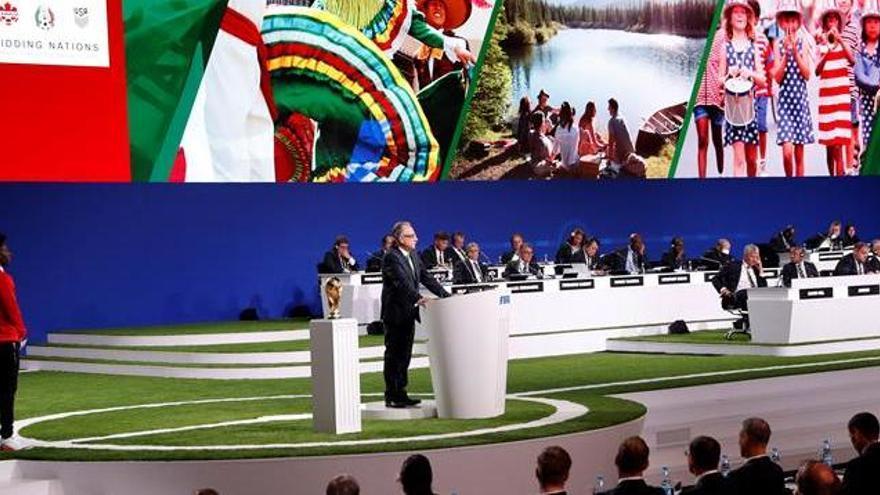 El Mundial de 2026 se celebrarà a EUA-Mèxic-Canadà