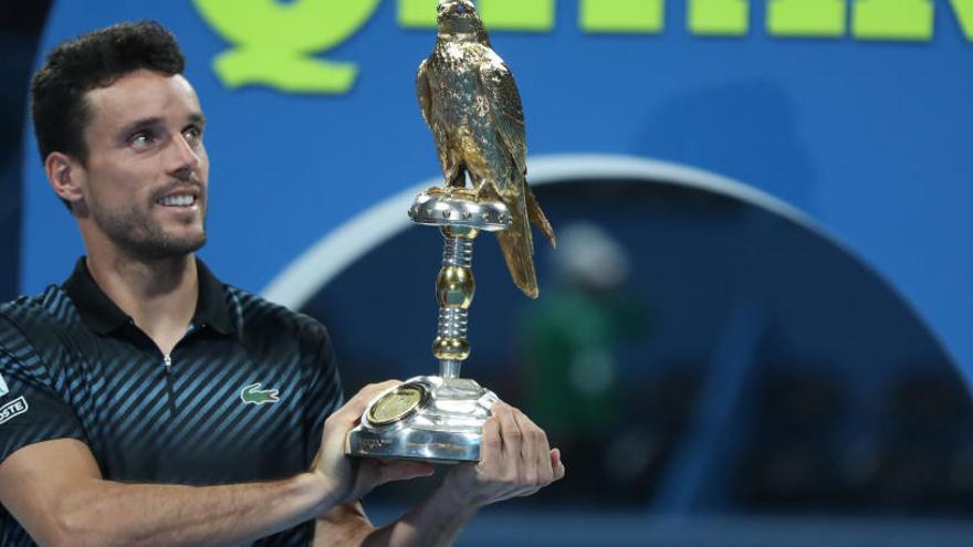 Roberto Bautista rubrica con el título en Doha su entrada triunfal al 2019