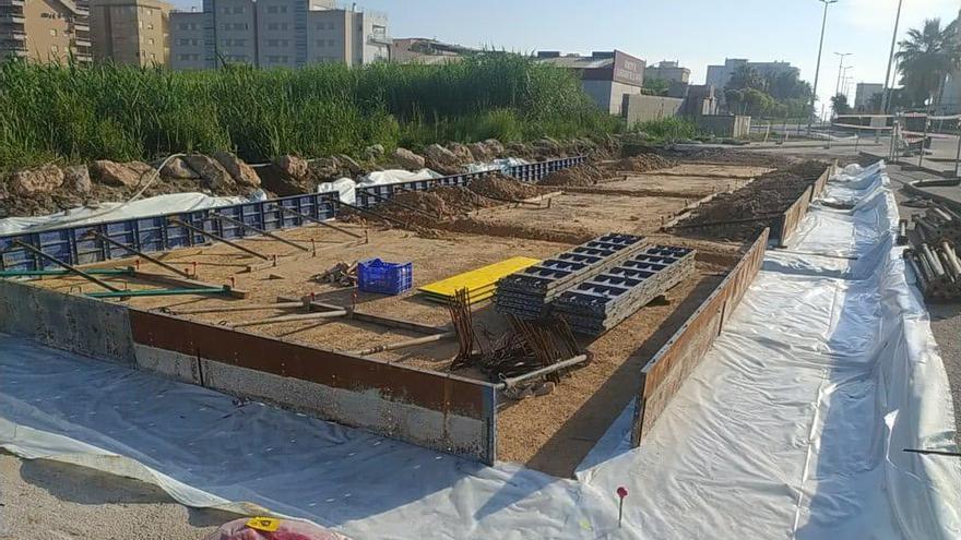 Bellreguard moderniza la red de agua potable con las obras del depósito de la playa