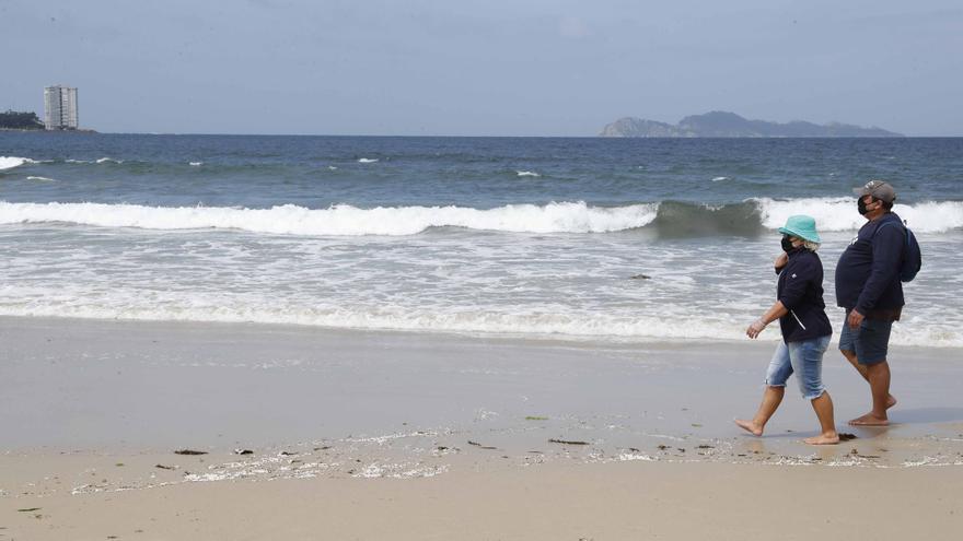 La quinta ola del COVID echa el freno en Galicia