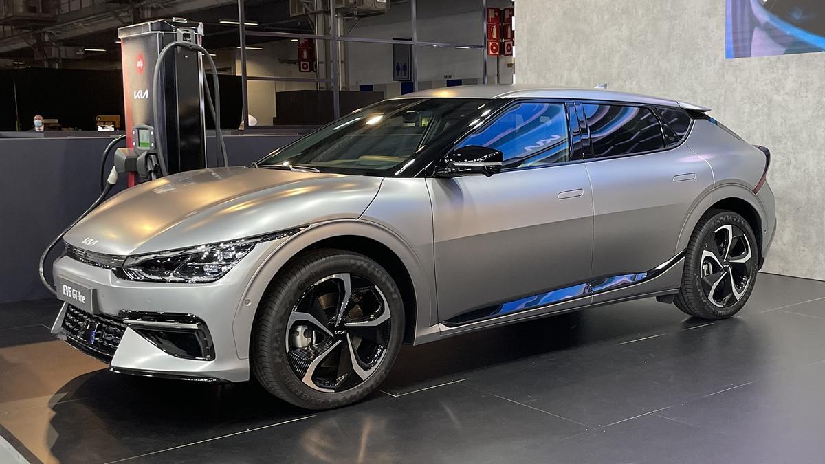 Novedades del Automobile Barcelona 2021: Kia EV6