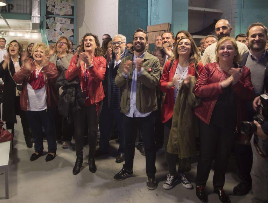 Elecciones autonómicas y generales: Noche electoral en la Comunitat Valenciana