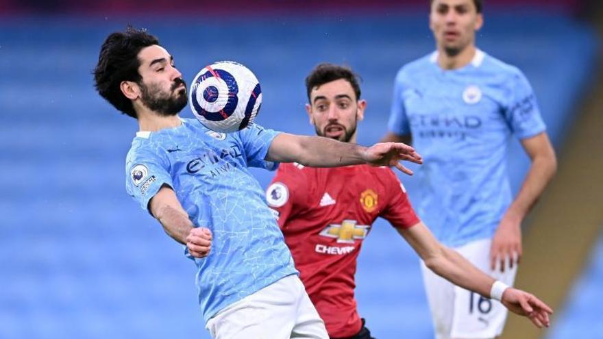 El United frena a un City de récord