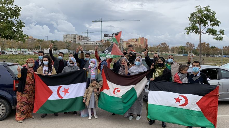 """Los saharauis de Mallorca exigen a la Cruz Roja Internacional que """"intervenga de inmediato en el Sáhara"""""""